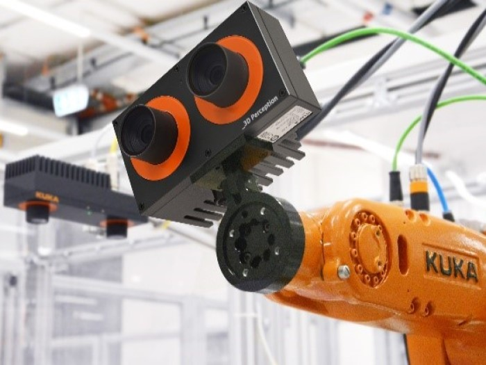 The palletizing system is integrated with more specialized details to meet operational requirements