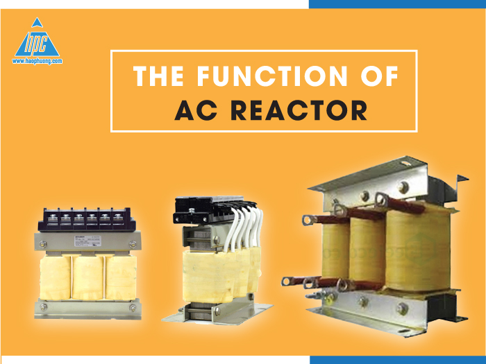 The function of AC reactor