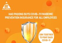 Hao Phuong buys COVID-19 pandemic prevention insurance for all employees