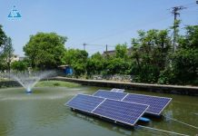IoT solutions and solar power in the aquaculture industry