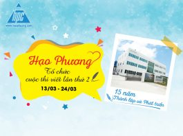"""The second writing contest with the theme """"Hao Phuong - 15 years of establishment and development"""""""