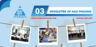 Hao Phuong monthly newsletter of March 2020