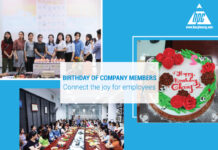 Birthday of company members - Connect the joy for employees