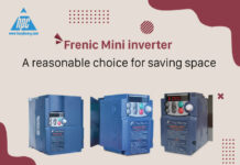 Frenic Mini inverter - A reasonable choice for saving space