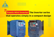 Frenic Mini inverter - The inverter series that operates simply in a compact design