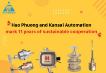 Hao Phuong and Kansai Automation mark 11 years of sustainable cooperation