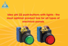 Idec phi 22 push-buttons with lights - The most optimal product line for all types of electrical panels