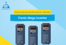 Improving the performance with the Frenic Mega inverter