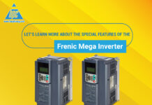Let's learn about the special features of the Frenic Mega inverter