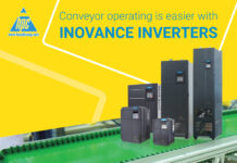 Conveyor operating is easier with Inovance inverters