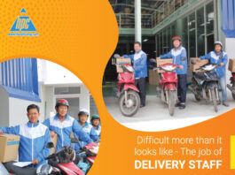 Difficult more than it looks like - The job of delivery staff