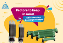 Factors to keep in mind when choosing discharge resistors