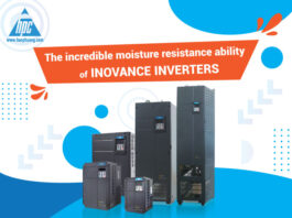 The incredible moisture resistance ability of Inovance inverters