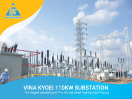 Vina Kyoei 110kW Substation - The largest substation in Phu My Industrial Park by Hao Phuong