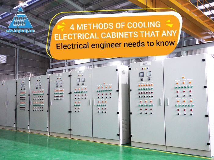 4 methods of cooling electrical cabinets that any electrical engineer needs to know