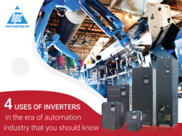 4 uses of inverters in the era of automation industry that you should know