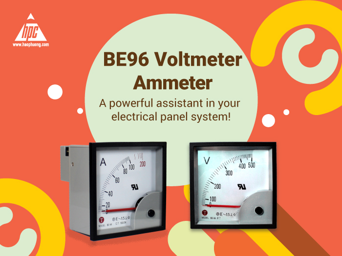 BE96 Voltmeter, Ammeter - A powerful assistant in your electrical panel system!