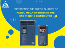 Experience the superb quality of Frenic Mega inverters at Hao Phuong - Fuji Electric's Official Distributor