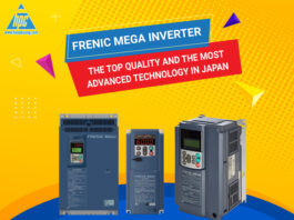 The Frenic Mega inverter series surprises for its leading quality in Japan