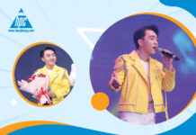 """2016 Bolero Idol champion - Trung Quang contributed a sweet voice in the party """"Celebrating the 15th anniversary of Hao Phuong"""""""