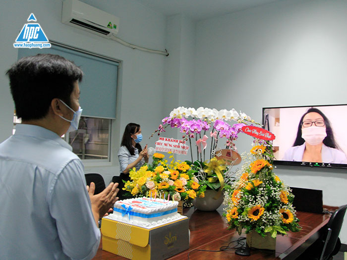 Hao Phuong celebrates its birthday online in June 2021 with the captain – Nguyen Tat Duong