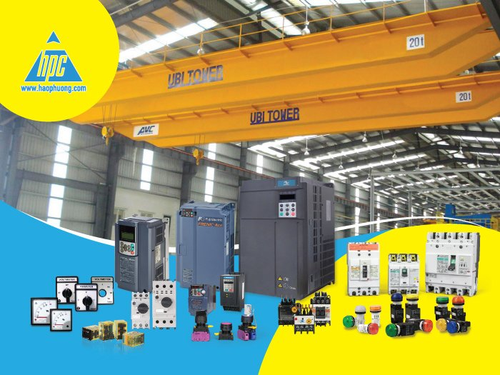Take a look at 10 suitable electrical equipment in the crane and tower crane electrical cabinet system