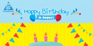 Hao Phuong wishes the members a happy birthday in August 2021