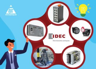 IDEC breaks through the market with a set of 5 new smart products